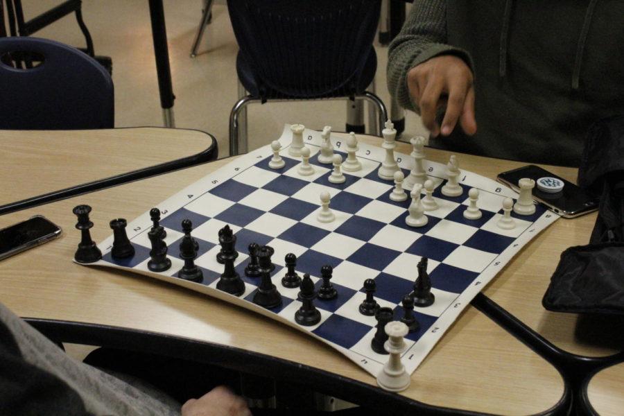 Chess Club. photo by Morgan Clark