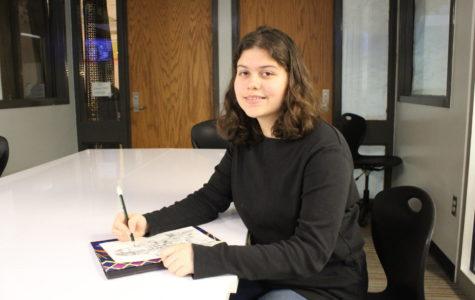 Sophomore Sarah Shores