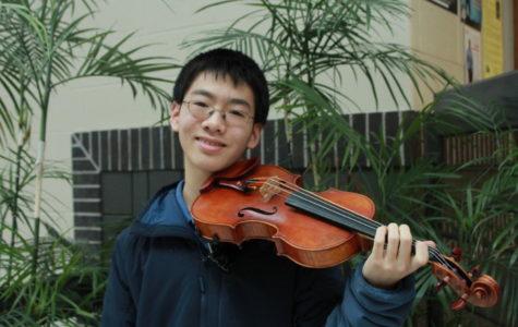 Freshman Jonathan Fang