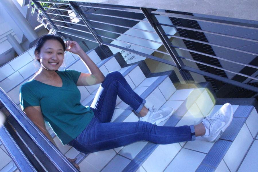 Sophomore Elaina Gurung