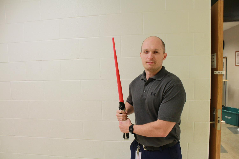 American Government teacher Joe Eikel. Photo by Connor Callahan.