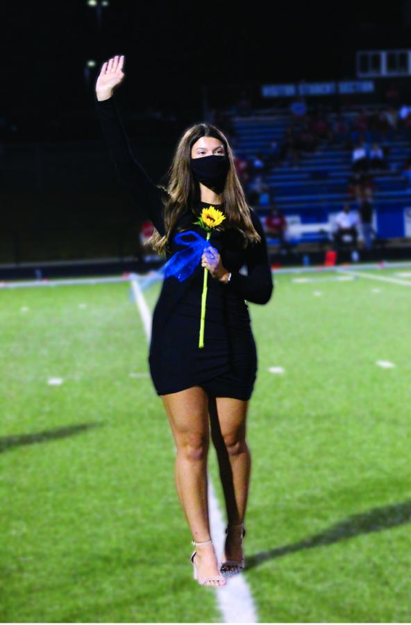 Senior Abby Cole
